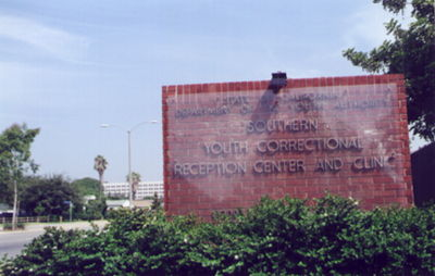 California Youth Authority - Division of Juvenile Justice